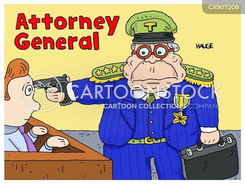 attorney general cartoon