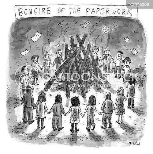 end of term cartoon
