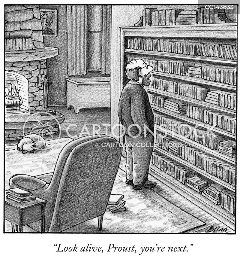 Proustian cartoon