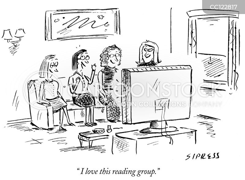 no reading cartoon