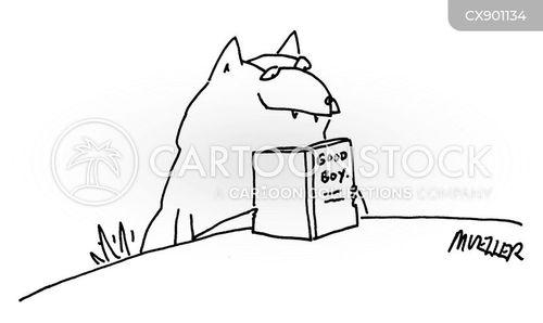 avid readers cartoon