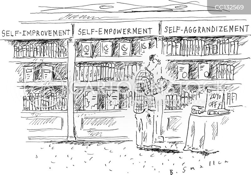 self empowerment cartoon