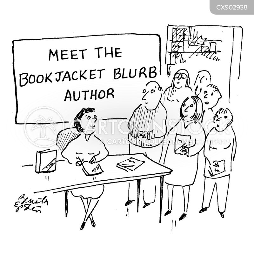 copywriter cartoon