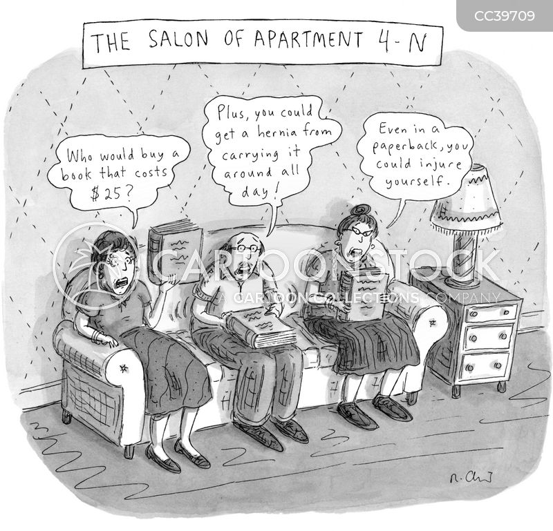Apartment Living cartoon