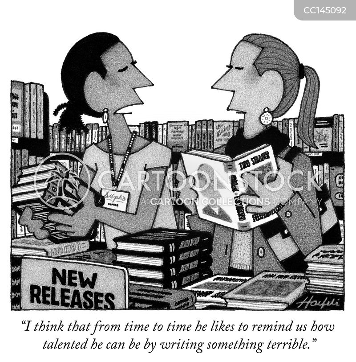 literacy cartoon