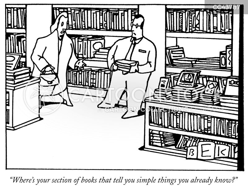 bookshops cartoon
