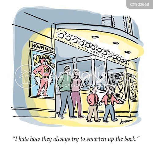 film critics cartoon