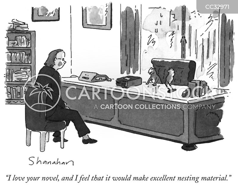 Publishing Companies cartoon