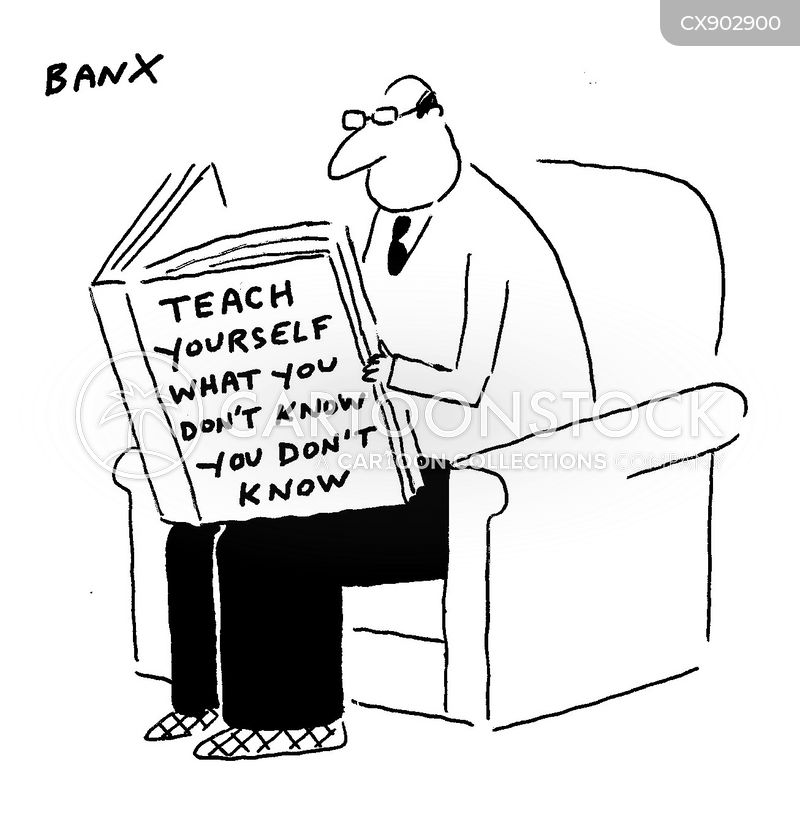 self-help book cartoon