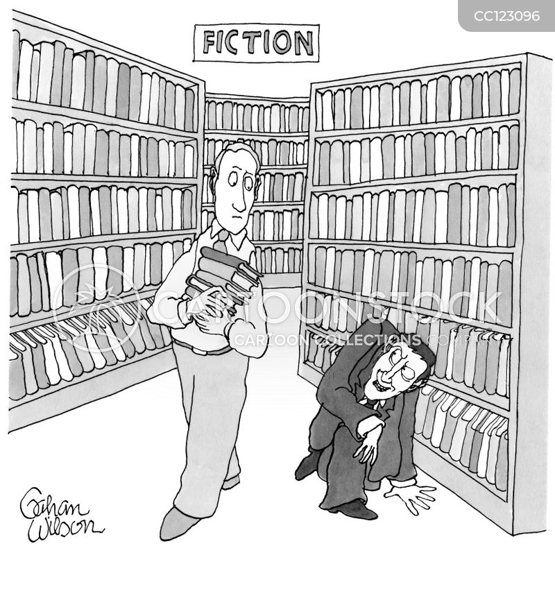 libraries cartoon