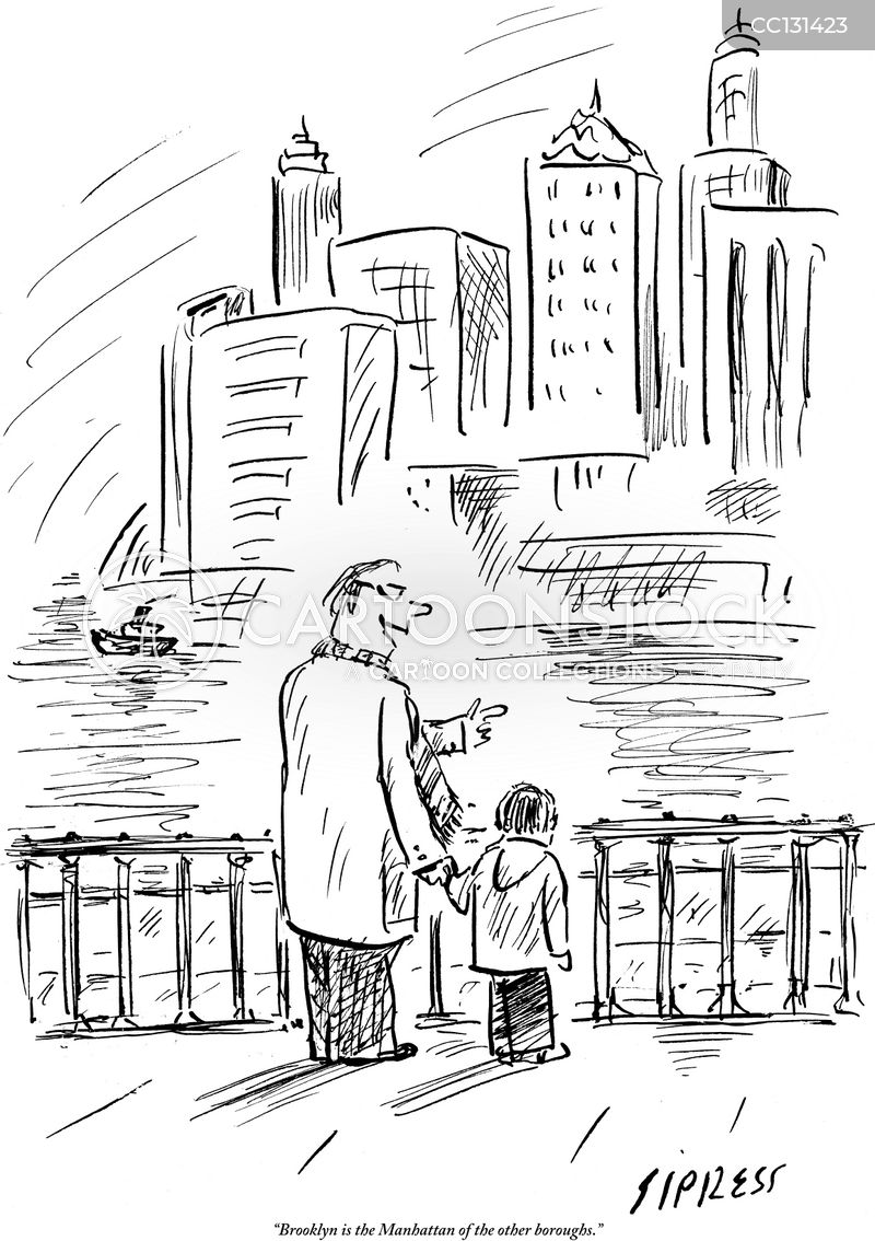 five boroughs cartoon