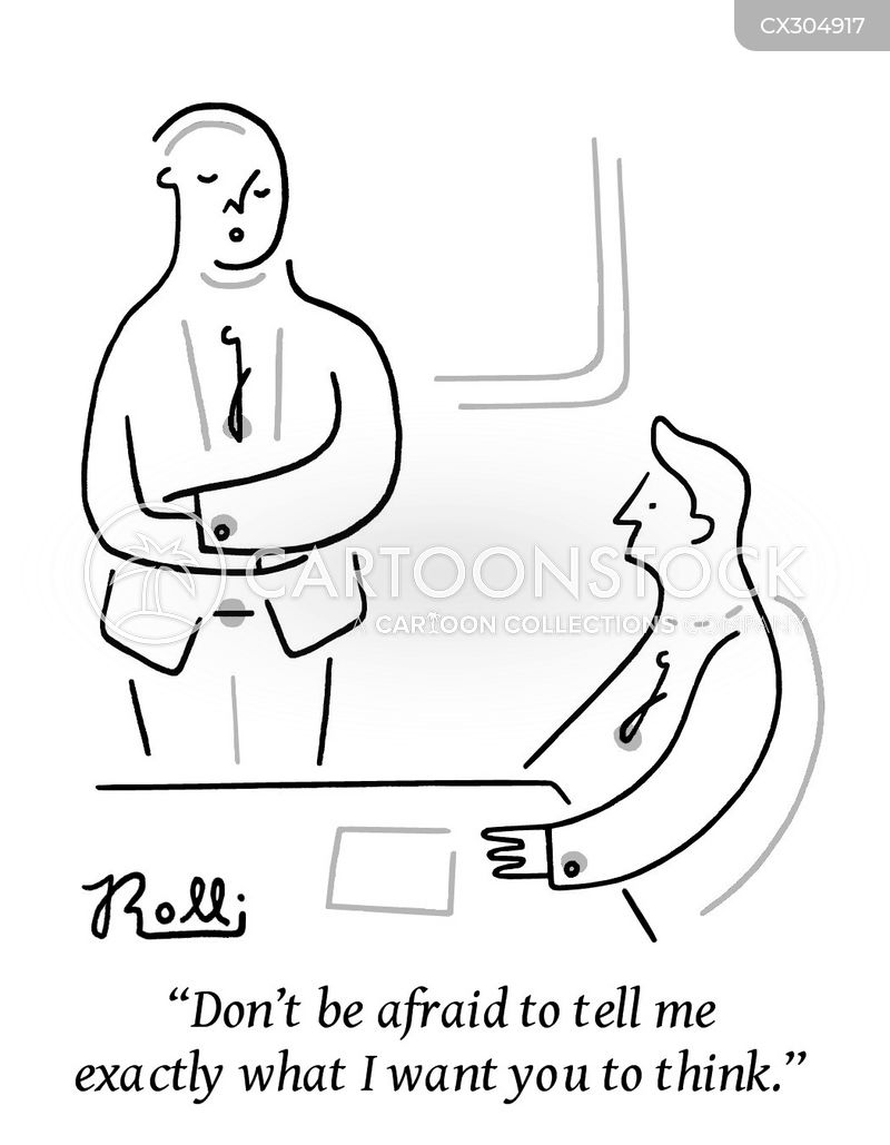 criticise cartoon