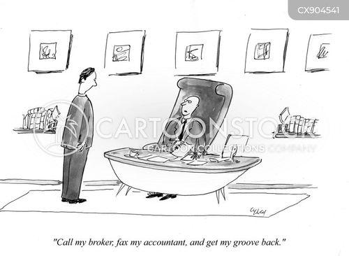 fax cartoon