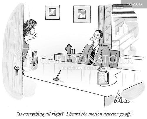 inactive cartoon
