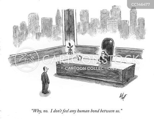 upper management cartoon