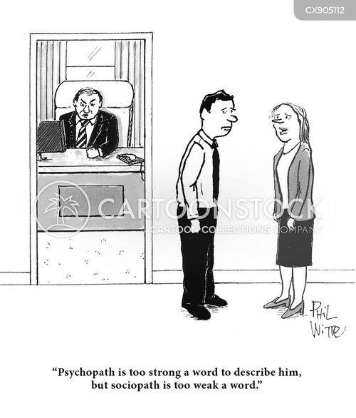sociopaths cartoon