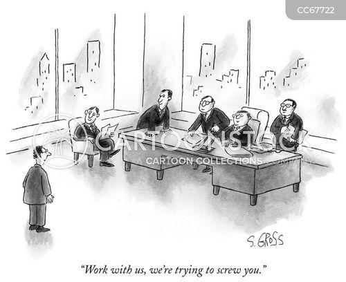 corporate structure cartoon
