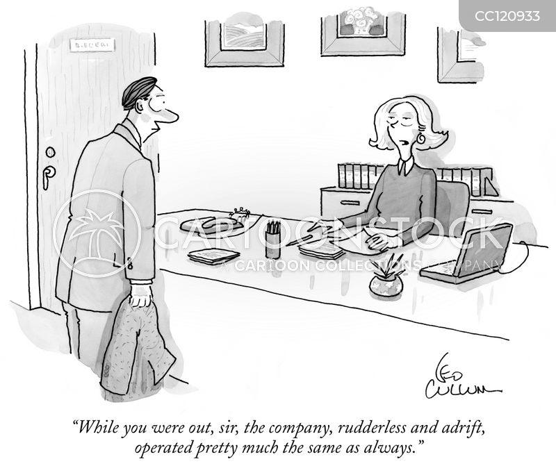 company cartoon