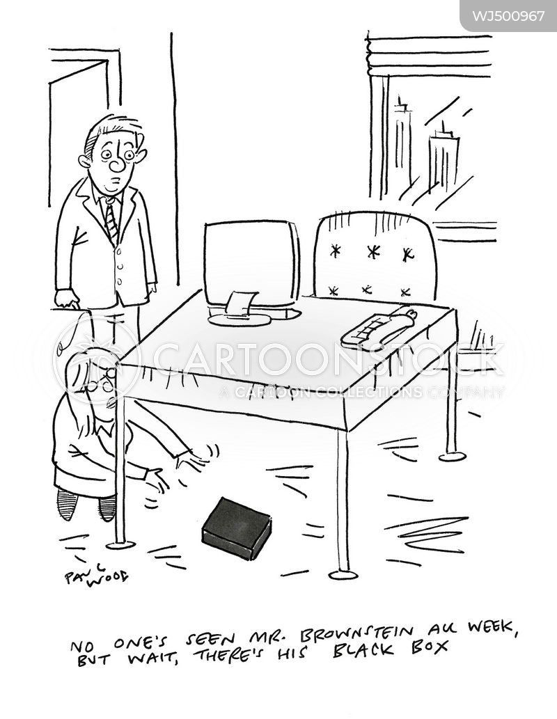 black box cartoon