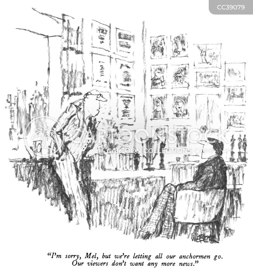 receives cartoon