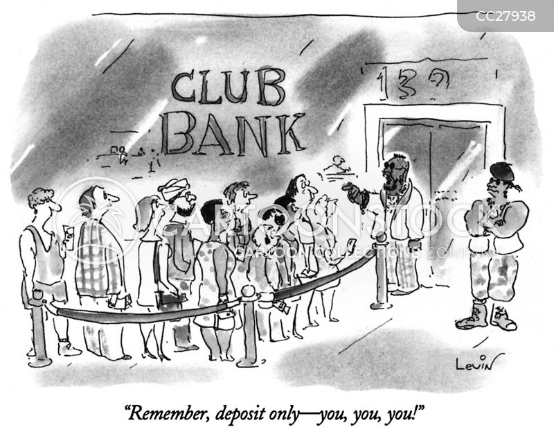 Exclusive Clubs cartoon