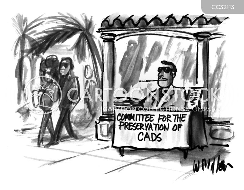 cads cartoon