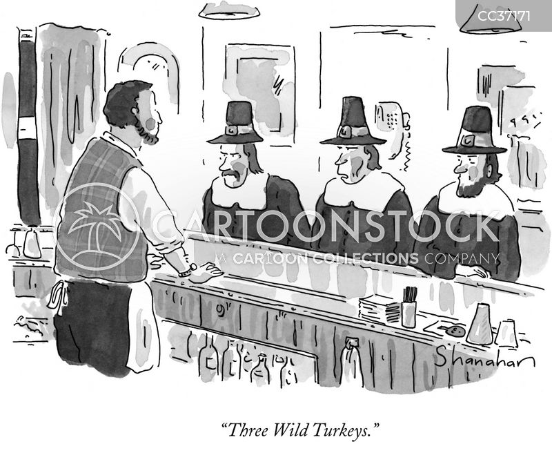 Puritans cartoon