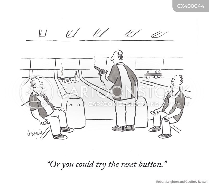 reset button cartoon