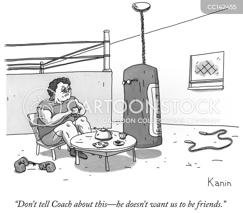Punching Bags cartoon
