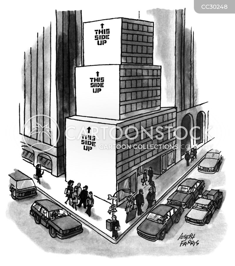 buildings cartoon