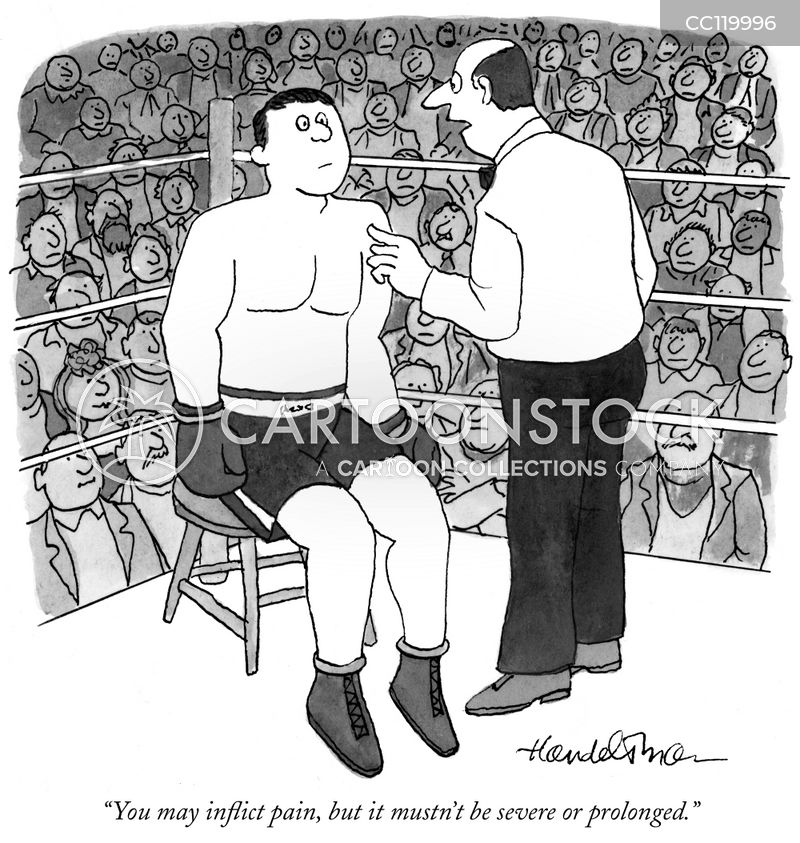 Rules For Boxers cartoon