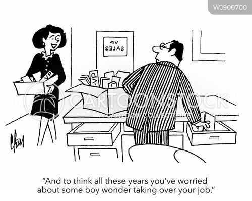 women in the workplace cartoon