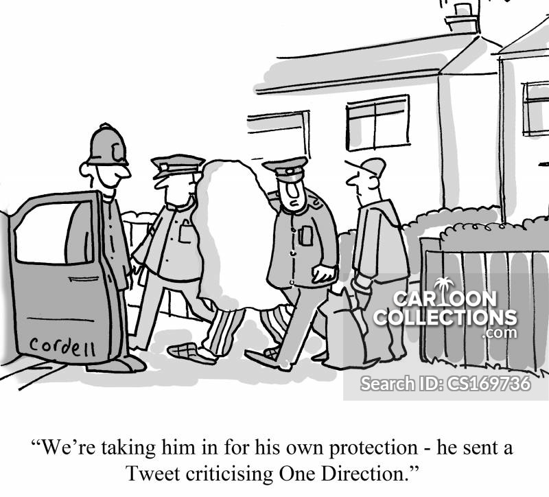 Protective Custodies cartoon
