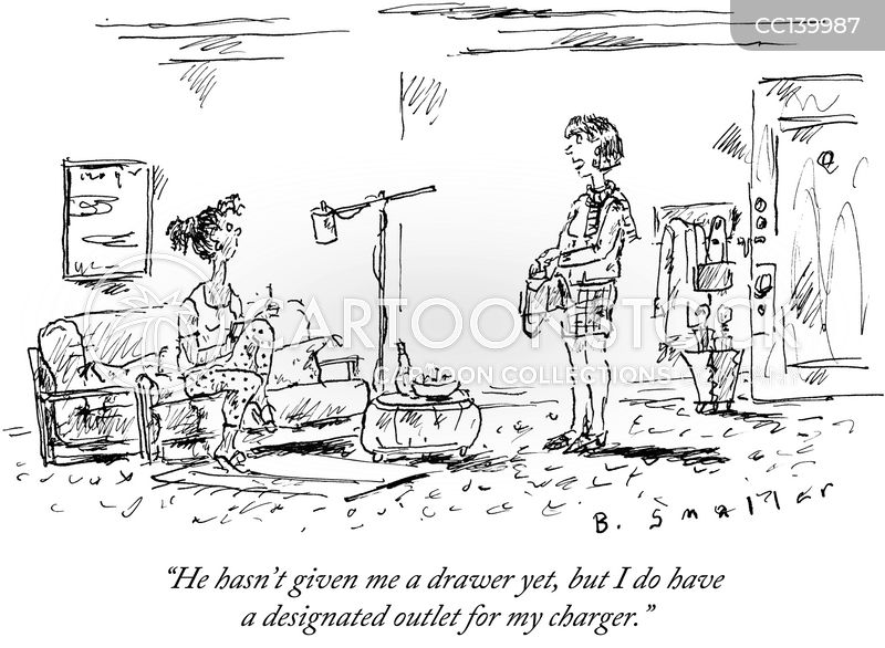 Drawers cartoon