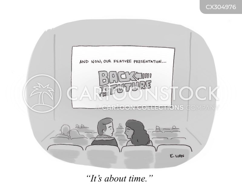 time travel cartoon