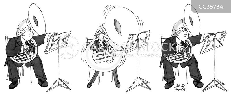 Wind Instrument cartoon