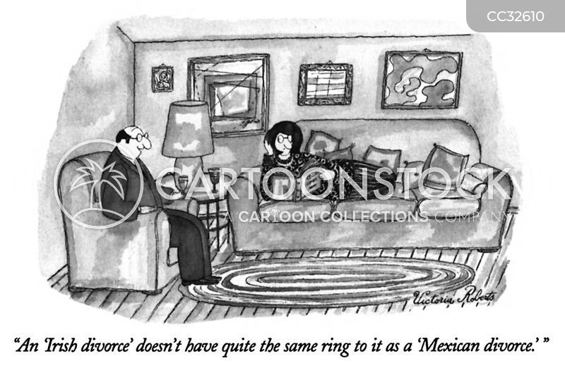 irish divorce cartoon