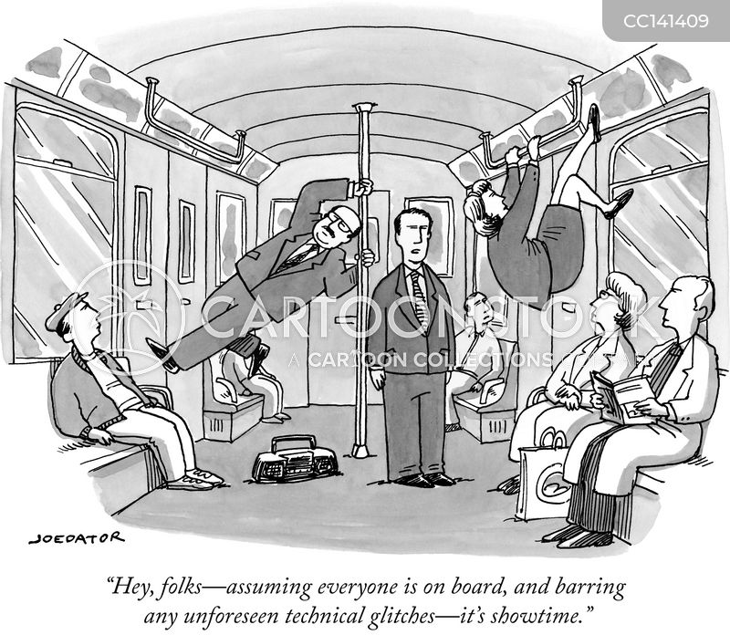 busk cartoon
