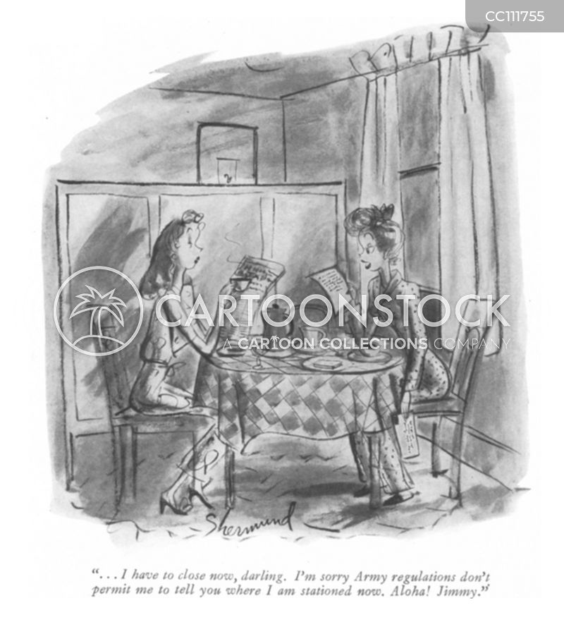 1940s relationships cartoon