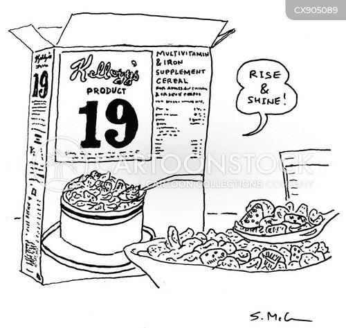 cereal cartoon