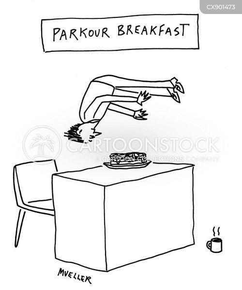 breakfast cartoon