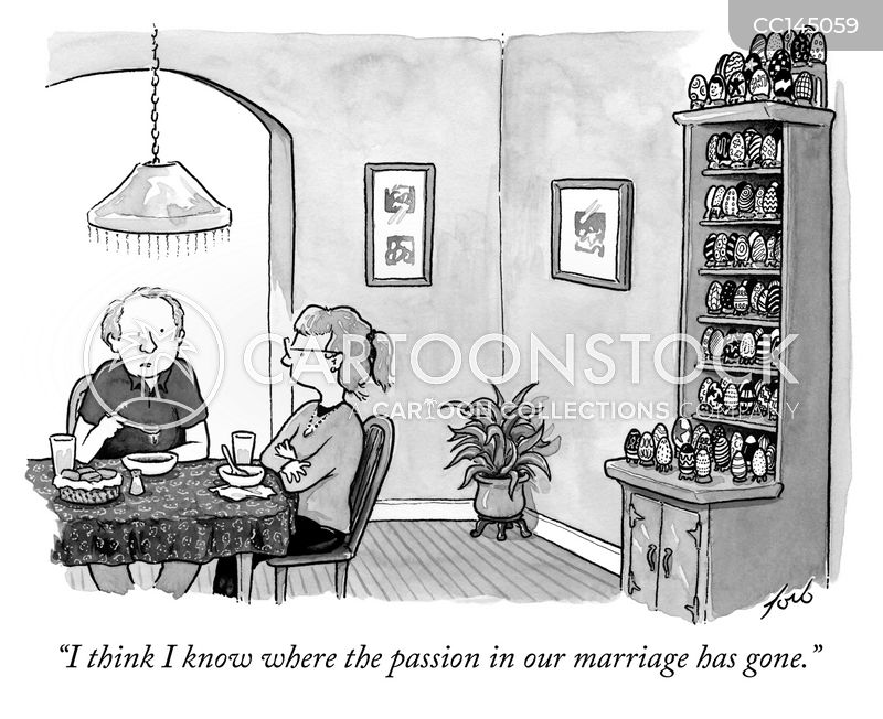marriage cartoon