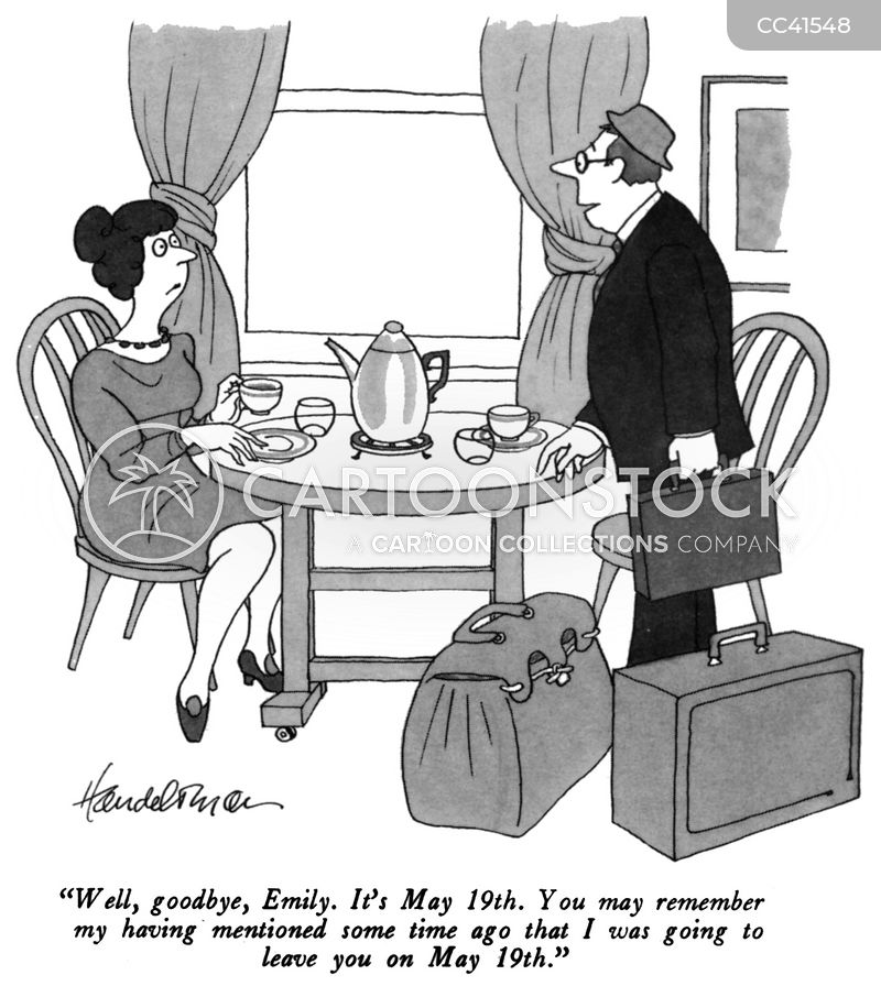 ex-husband cartoon