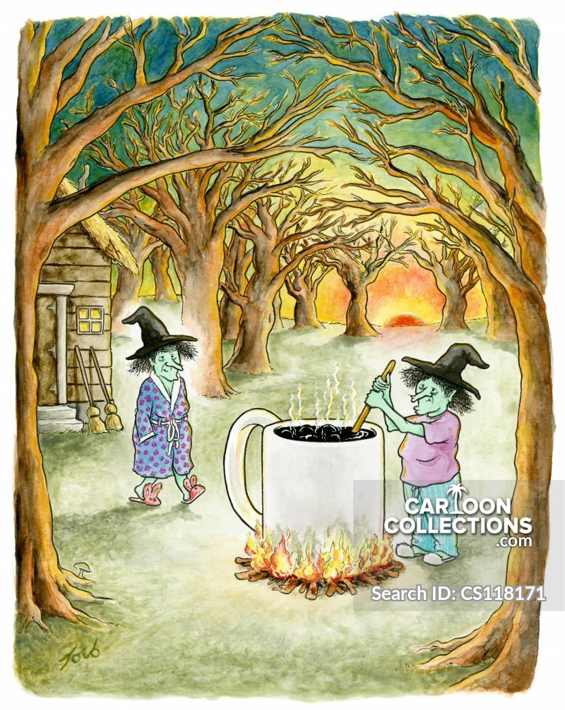 witches brews cartoon
