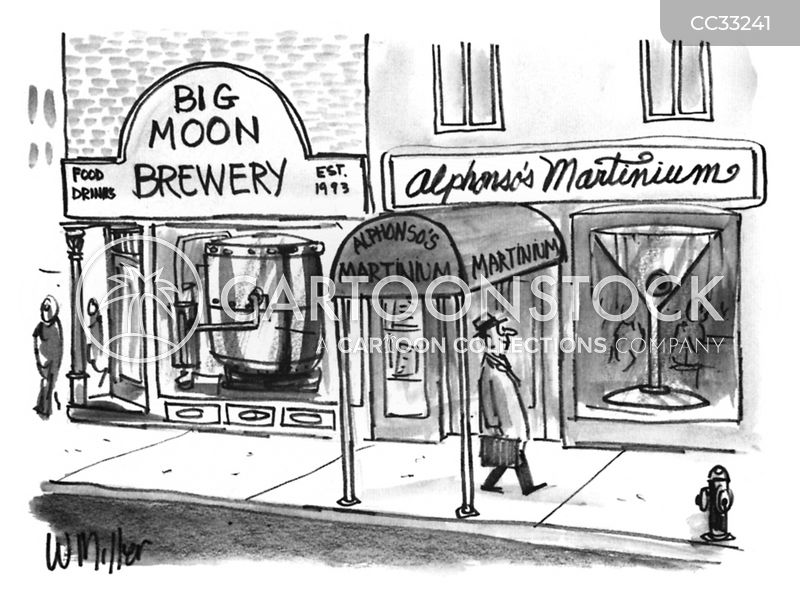 breweries cartoon