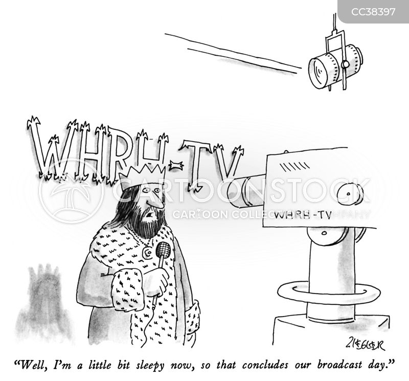 broadcasting cartoon
