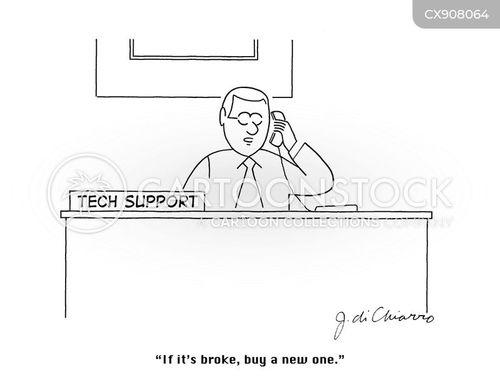 tech support cartoon