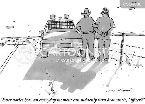 handcuff cartoon