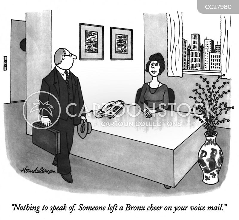 answering machines cartoon