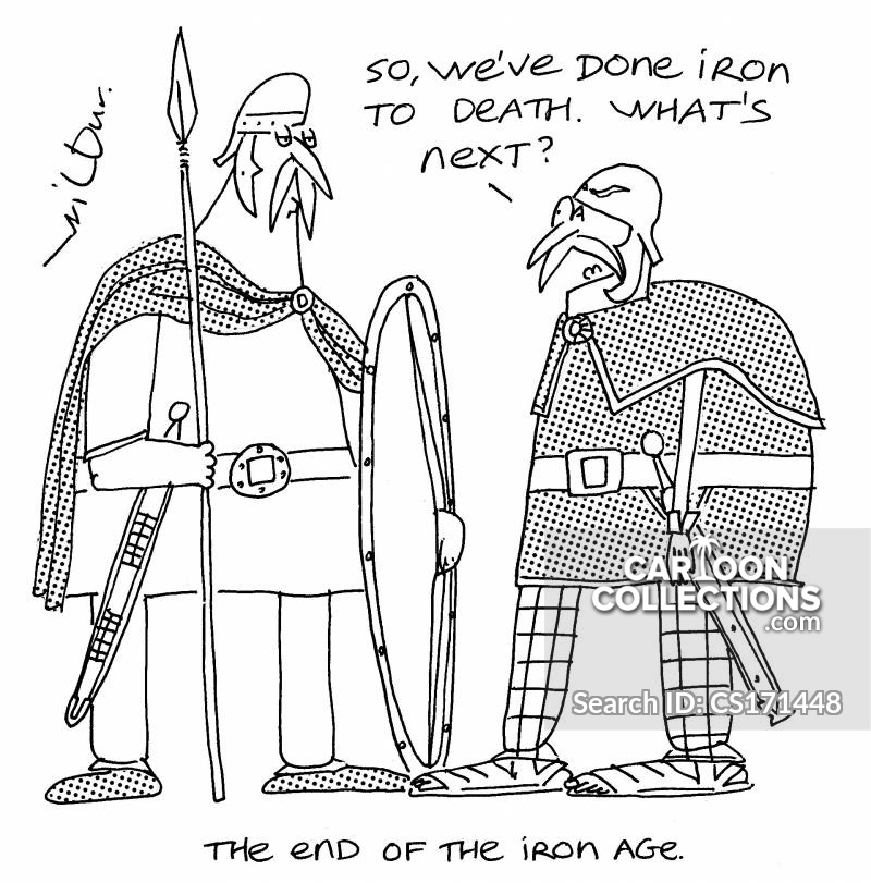 Ancient Histories cartoon